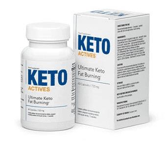 keto actives opakowanie tabletek