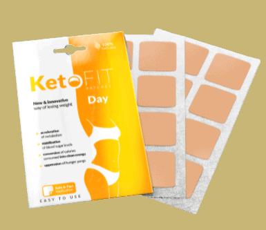ketofit patches, plastry na dzień
